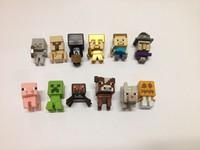Lot 12pcs Different Minecraft Mystery Mini Figures Series 1 set of  12