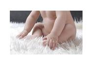 75*50cm Photo Studio Props Baby ,White pile fabric mat,Baby photography blanket,newborn mat,props for newborn,basket stuffer