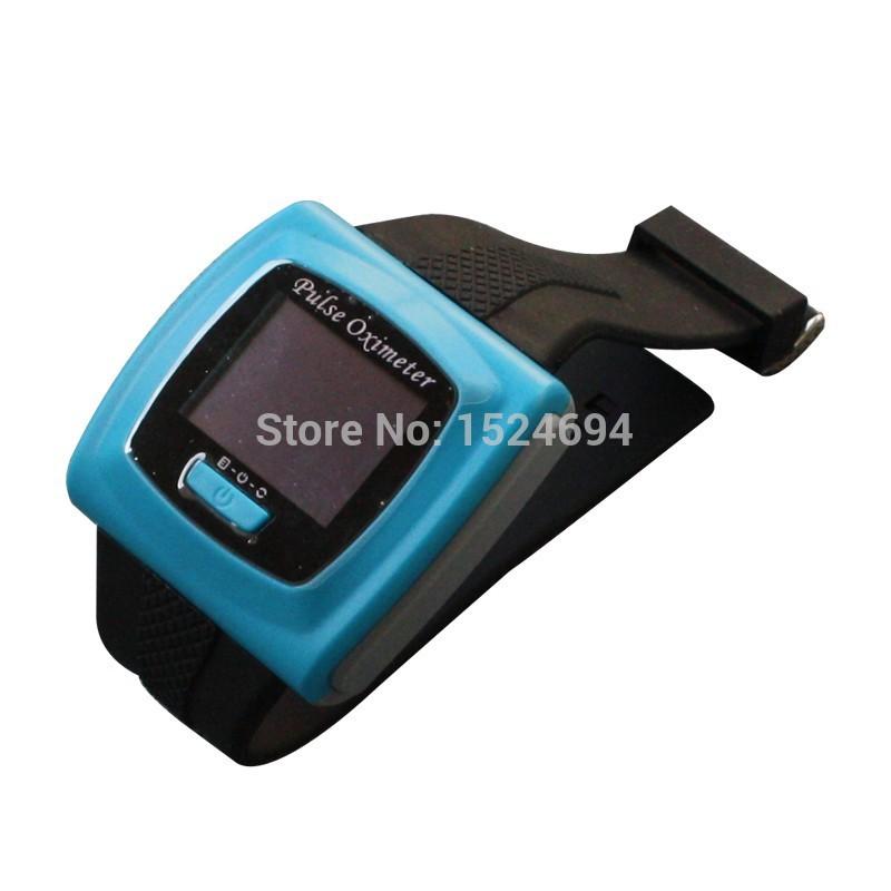 Hot sale wrist type oximeter AH-50F contec pulse oximeter Pulse Oximeter Blood Oxygen Saturation test Monitor(China (Mainland))