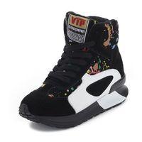 Women Wedge High Heel Boots Sapatilhas Sneakers Botines Booties Casade Tenis Shoes Woman Sapatos Femininos Botas De Inverno Neve