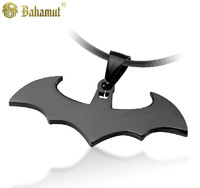 Bahamut Titanium steel jewelry  The Dark Knight Batman Pendant Men's Necklace Free shipping