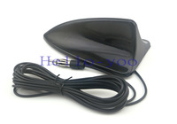 Shark Fin Aerial with 3M adhesive Car Antenna Radio FM Signal Amp Vehicle Amplifier Universal Auto FM Booster For BMW mazada