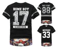 DQ-06 T shirt men Fashion Harajuku Hip hop t shirts Brand sport  Rock Dgk Men clothes Skateboard Dsq hood by air Casual men