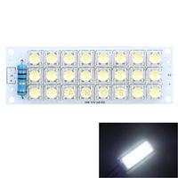 Super Bright 12V White Piranha 24 LED Panel Board Light Energy Saving LED Panel Lamp Lights #1JT