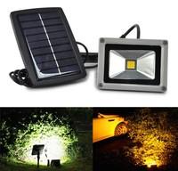 10W Solar Power LED Flood Night Light Garden Spotlight Waterproof Outdoor Lamp Lawn lamp