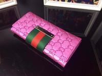 genuine laether 2014 purse womens brand design cow skin fashion women wallets hot sale promotion high quailty ladies wallets