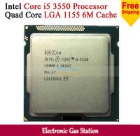 Original Processor for Intel Core i5 3550 Quad Core LGA 1155 77W L3 cache 6M 3.3GHz HD 2500 Desktop CPU