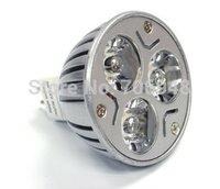 MR16 3w led spot lights red/green/blue/yellow/white color option DC12V