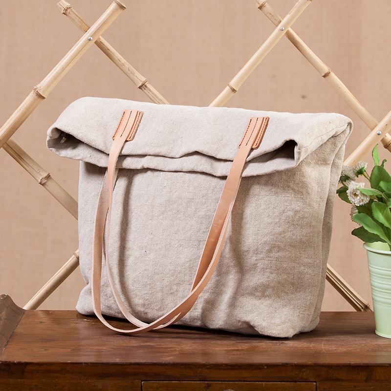 Tote Bag With Shoulder Strap Shoulder Bag Leather Strap