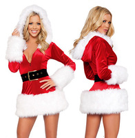 2014 New Mochila Factory Direct Low Price for High Quality Long Sleeve Christmas Party Wear Apparel Uniforms Singer Costume