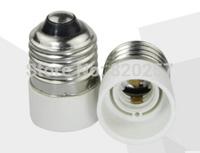 free shipping 10PCS E27 to E14 Edison screw socket base Adapter Converter