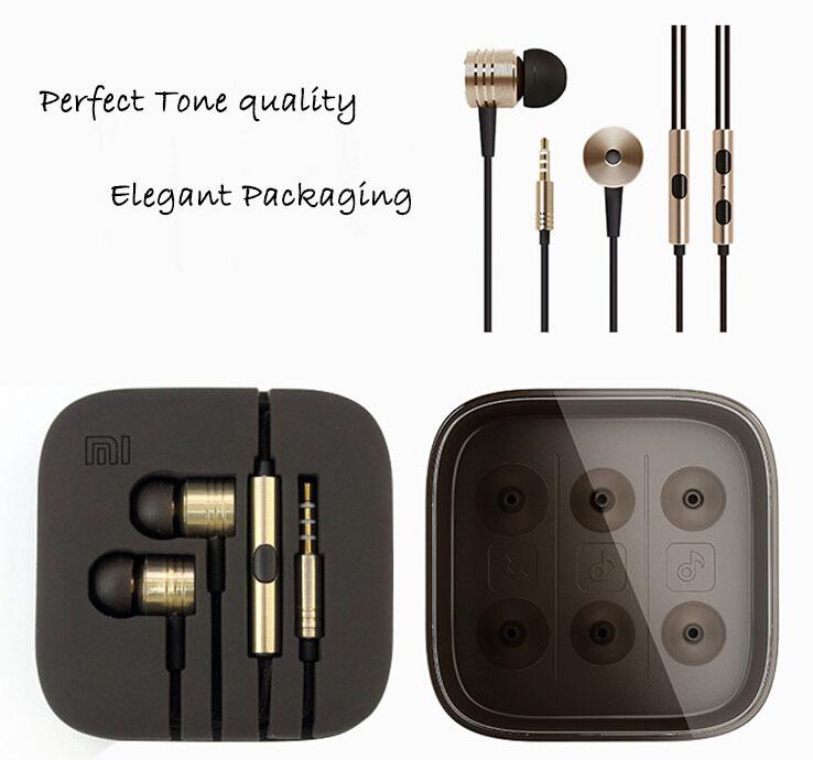 Top quality mega bass updated version 3.5mm XIAOMI Earphone Headphon