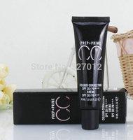1pcs/lot New Makeup CC PREP+PRIME COLOUR CORRECTING SPF 30/PA+++ CREAM 30ML 4 Different Colors