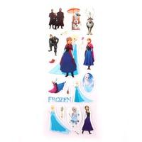 20sheets/lot  Cartoon Frozen Sticker Party Supplies Elsa And Anna Princess 3D Foam Stickers