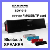 Original Nizhi Sardine SDY-019 HIFI Bluetooth Speaker Support FM Radio USB Stereo Sound Box