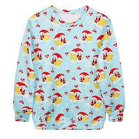 Fashion Harajuku Sweaters and Pullovers Digital Printed Sweatshirt Xmas Homme Femme Christmas Moon Hoodies