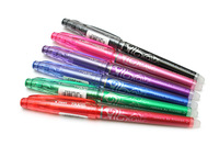 Pilot FriXion Pen BL-FRP5 Erasable pen Fine Tip 0.5mm Six Colors