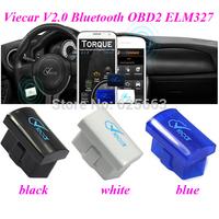 Original Viecar 2.0 ELM327  Bluetooth same as elm327 OBD2 Scan Tool 3 Colors For Optional