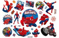 Kids Toy Cartoon DIY Tattoos Sticker spider-man temporary Tattoo Stickers funny sticker boy's girl's  gift 15.5*10.9cm