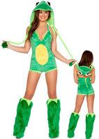 Roupa Infantil Feminina Homem Aranha Mochila Christmas Costume Party Animal Role Play Clothing for Frog with Bars Cosplay Export