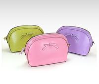 Free delivery / shoulder Mini Leather / Shell Pack / Leather Handbag / messenger bag