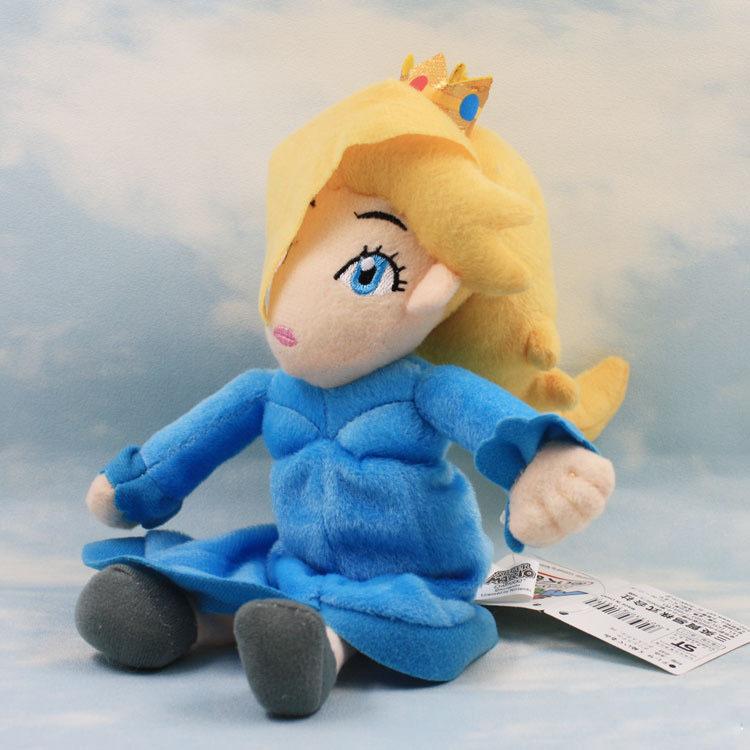 EMS 100 Шт./лот Super Mario Bros Принцесса Розалина Плюшевые Куклы мягкая Игрушка девушки куклы 16 см