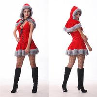 2014 Roupa Infantil Feminina Mochila Christmas Riding Hood Exported To Europe, Clothing Including Hats Shawls Party Club Stage