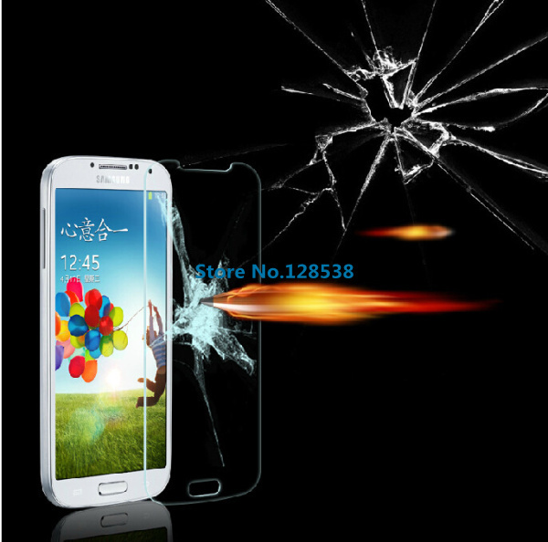 Only 0.26mm 2.5D Ultra Thin Premium Explosion-proof Anti-scratch Samsung Galaxy S4 i9500 Tempered Glass Screen Protector Film
