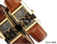 Authentic Julius Quartz Wrist Watch Men's Women's Fashion Luxury Casual Leather Strap Rectangle Top Sale Hot Clock Time JA-399