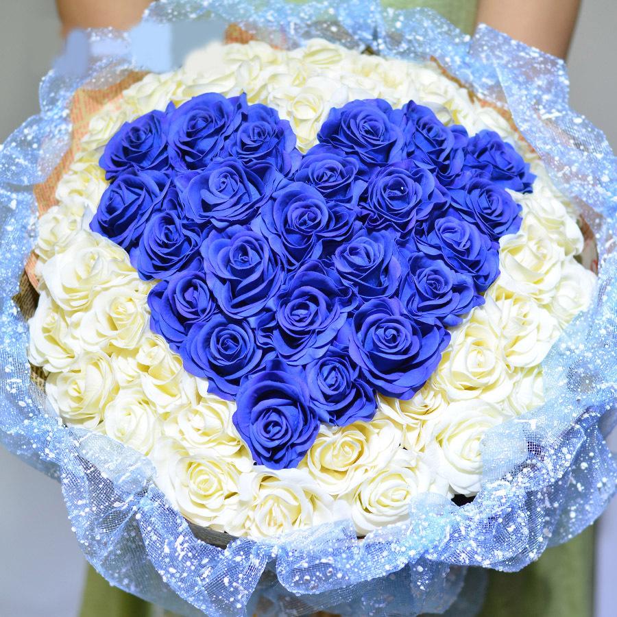 À bas prix fleurs de mariage artificiels