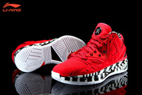 "Li-Ning WoW 2 Way of Wade 2 Encore 2 ""Red Lava"" Dwyane Wade Signature Basketball Shoes - Red/White"