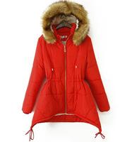 XXXL Plus Size Women's Winter Jackets Loose Irregular Warm Winter Coat Jacket Outerwear Faux Fur Collar Thickening Hood Coat 090