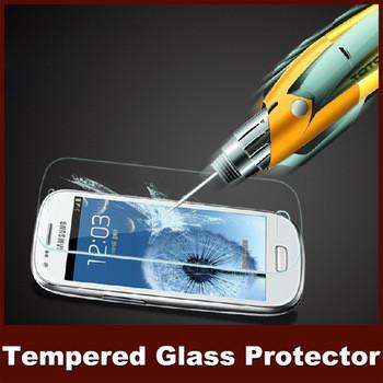 Взрывозащищенный анти-shatter премиум закаленное стекло защитная пленка для Samsung ...