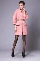 High-quality 2015 New European American big new women's woolen coat long section temperament  luxury cardigan wool coat&belt
