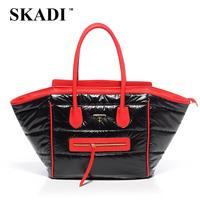 2015 big smile bag female bag down bag space bag women's handbag 3 colors big capacity B274