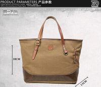2014 new Korean version of casual canvas bag shoulder bag handbag bag retro canvas bag durable unisex
