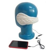 Free Shipping & Drop Shipping Warm Plush 3.5mm Stereo Music Headset Headphone  Winter  knit  Earmuff For iPhone MP3