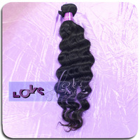 6A Loose Wave Indian Virgin Human Hair Weave in Natural Color 3.5oz/pcs Shedding Free No Tangle for Years