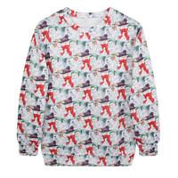 Fashion Harajuku Sweaters and Pullovers Digital Printed Sweatshirt Xmas Homme Femme Christmas Snowman Hoodies