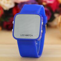 11 Colors New Fashion Silicone Led Watch Women Digital Watch Quarzt Watch AW-SB-1204