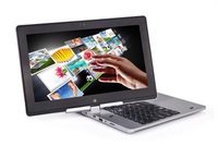 11.6 inch windows8 Mini laptop HD 1366*768 Ten-point capacitive touch 360 rotation mini Touch Computer