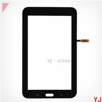 Free shipping Original new Repair Parts replacement for Samsung Galaxy Tab 3 Lite 7.0 T110 Touch screen Panel Digitizer Glass