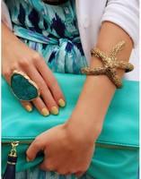 BL059 New Fashion Europe starfish openings fashion and personality bracelet 2014