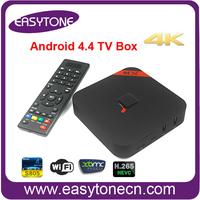 HD XBMC media player MXQ Android 4.4.2 TV BOX Amlogic S805 Quad Core 1GB/8GB with Bluetooth 4.0 Free Shipping