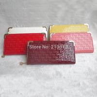 Euramerican Fashion Women's Wallet PU Leather Letter Zipper Long Wallets Holders Purse Clutch Wallet Coin Purse Retail&Wholesale