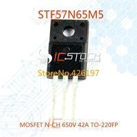 STF57N65M5 MOSFET N-CH 650V 42A TO-220FP 1pcs