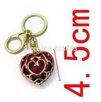20pcs/lot Legend of Zelda Skyward Sword Heart Containers pendant keychain