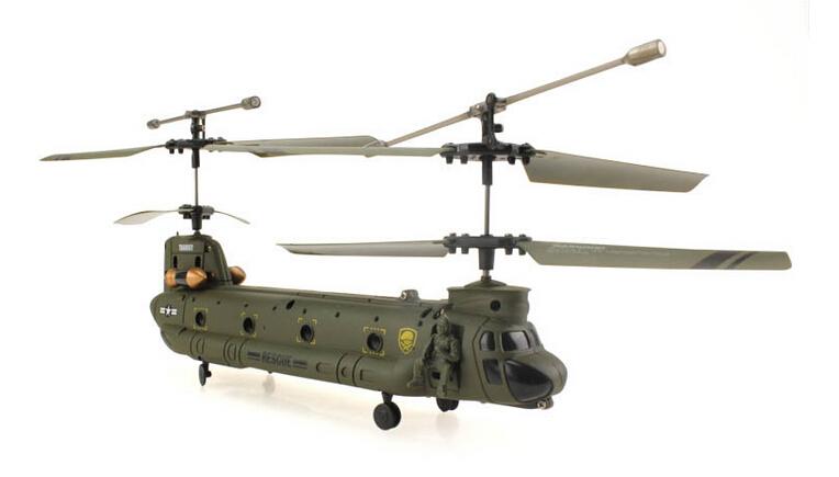 Hot Sale UDI U815 Syma S022 3 channel radio control rc helicopter ready to fly RTF Big CH-47 Chinook(China (Mainland))