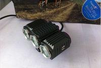 TrustFire 3x CREE XM-L2 Bicycle Light 6000 lumens LED Bike Headlamp Free DHL/FEDEX