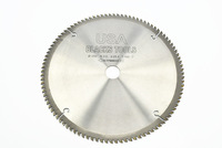 6800RPM Max Speed 10'' Outside Diameter 100 Teeth Carbide Saw Blade for Aluminum Cutting